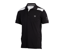 Wilson Staff Mens FG Tour V2 Tech Polo Shirt 2013 (Black)