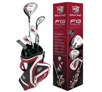 Wilson FG Tour 9 Piece Junior Golf Package Set  6-8 Year
