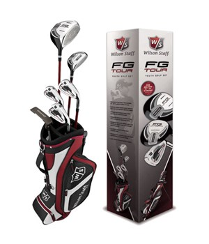 Wilson FG Tour 10 Piece Junior Golf Package Set (9-12 Year)