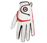 Footjoy Junior Glove 2014 (White/Red)