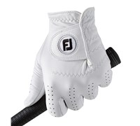 FootJoy Mens CabrettaSof Golf Gloves 2014 (White)