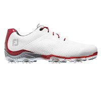 FootJoy Mens DNA Golf Shoes (White/Red)