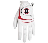 FootJoy Mens WeatherSof Fashion Golf Gloves 2015 (Red)