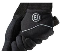 FootJoy Mens WinterSof Golf Gloves 2014 (Black)
