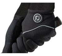 FootJoy Ladies WinterSof Golf Gloves 2014 (Black)