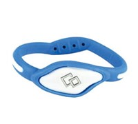 Trion Z Flex Loop Ionic Bracelet (Blue/White)