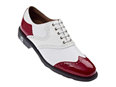 FootJoy Mens Icon Shoes 2013  White/ Red Patent