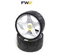 Powakaddy Sport/Freeway Trolley Wide Wheels Assembly  Pair