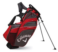 Callaway Golf Fusion 14 Hybrid Stand Bag 2014 (Red/Charcoal/Black)