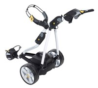Powakaddy FW3 Electric Trolley with Lead Acid Battery 2014 (White/Black)