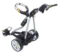 Powakaddy FW7 Electric Trolley with Lead Acid Battery 2014 (Silver/Graphite)