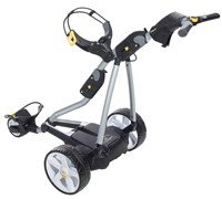 Powakaddy FW7 Electric Trolley with Lithium Battery 2014 (Silver)