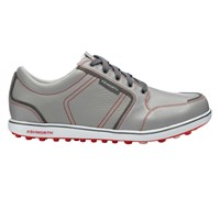 Ashworth Leather Cardiff ADC Golf Shoes 2014 (Grey/Red)