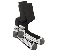 Galvin Green Squeeze Compression Golf Socks (Black/Grey/White)