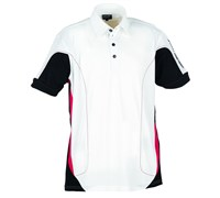 Galvin Green Mens Merwin Ventil8 Golf Shirt 2013 (White/Black/Red)