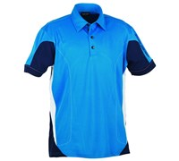 Galvin Green Mens Merwin Ventil8 Golf Shirt 2013 (Swedish Blue/White)