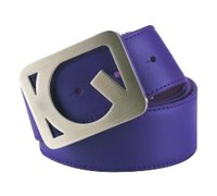 Galvin Green West Leather Belt (Plum)