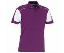 Galvin Green Mens Mike Golf Shirt 2013 (Purple/White)