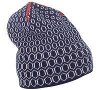 Galvin Green Beamon Knitted Windstopper Beanie 2014 (Midnight Blue/White)