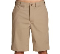 Greg Norman Mens Flat Front Tech Shorts (Bamboo)