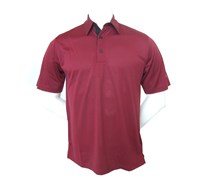 Greg Norman Mens Tailored Collar Polo Shirt (Red)