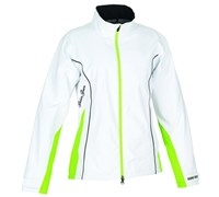 Galvin Green Ladies GoreTex Alice Waterproof Jacket 2014 (White/Apple Green)