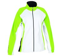 Galvin Green Ladies Beyonce Gore WindStopper Jacket (White/Apple Green)