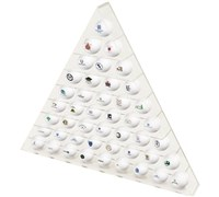 45 Ball Pyramid Display Rack