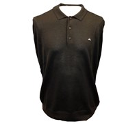 J Lindeberg Gerson True Merino Knit Polo 2013 (Black)