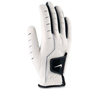 Nike All Weather Raingrip Golf Gloves (White/Black)