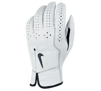 Nike Classic Feel Golf Gloves (White/Black)