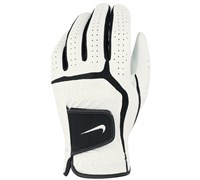 Nike Dura Feel VI Golf Gloves (White/Black)