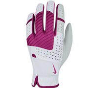 Nike Ladies Tech Xtreme V Golf Glove 2014 (White/Pink)
