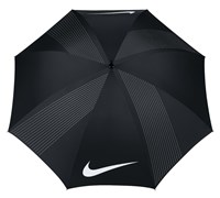 Nike Golf 62 Inch Windproof III Umbrella (Black/Grey/White)