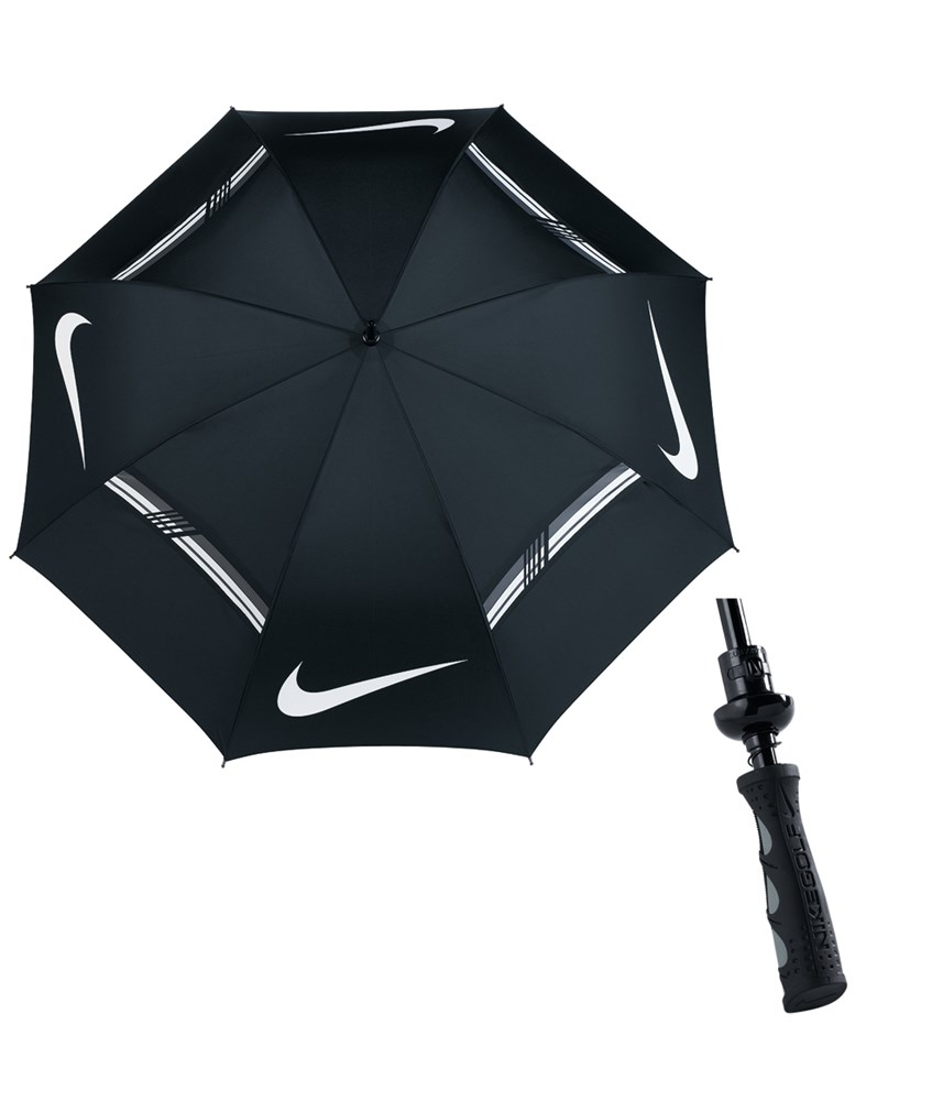 Nike 62 Inch Windsheer Hybrid Golf Umbrella Golfonline