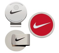 Nike Golf Hat Clip & Ball Marker (University Red/White)