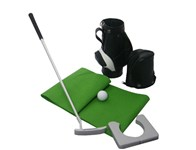 Mini Golf Set With Bag