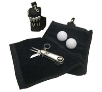 Golf Towel & Tool Set