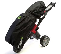 GoKart Golf Bag Rain Cover (Black)