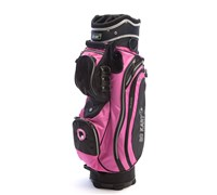 GoKart Golf Cart Bag (Black/Pink)