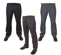 Guide London Mens Plain Golf Trouser  Straight Pockets