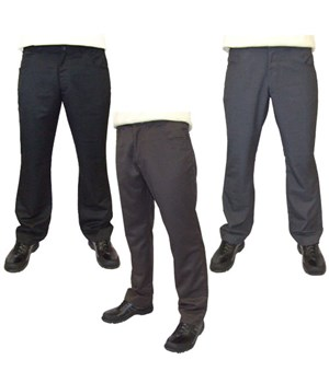 Guide London Mens Plain Golf Trouser (Straight Pockets)