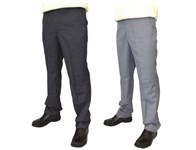 Guide London Mens Check Textured Golf Trouser