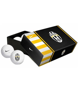 Nike Power Distance Soft Juventus Golf Balls (6 Balls) 2012