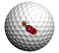 Golfdotz Golf Ball ID (Dynamite)