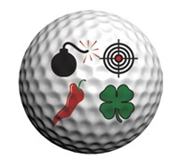 Golfdotz Golf Ball ID (Fantastic Foursome)
