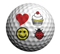 Golfdotz Golf Ball ID (Fore Ladies Only)