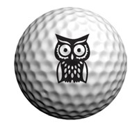 Golfdotz Golf Ball ID (Hootie)