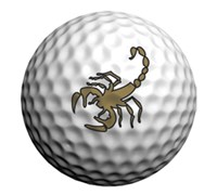Golfdotz Golf Ball ID (Scorpion)