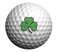 Golfdotz Golf Ball ID (Shamrock)